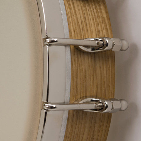 "Vega White Oak open back 11"" banjo pot"