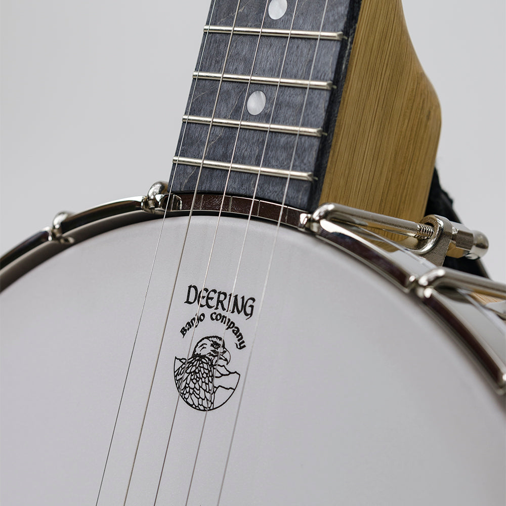Vega White Oak Long Neck Banjo 11""