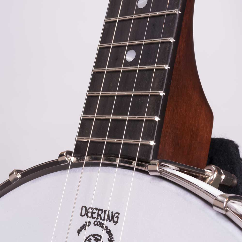 Vega Little Wonder banjo - neck joint front