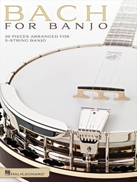 Bach for Banjo: 20 Pieces Arranged for 5-String Banjo Book