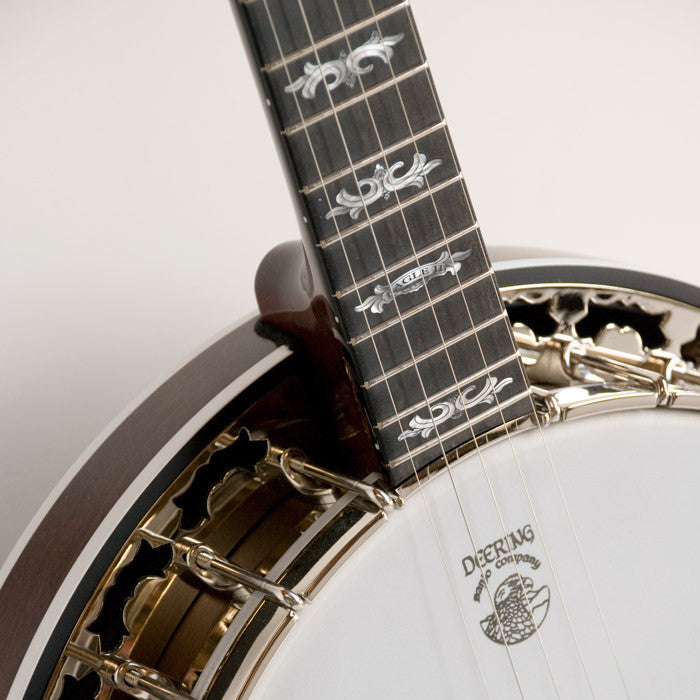 Deering Eagle II Banjo - neck and pot