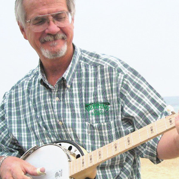 Greg Deering playing a Deering Goodtime Two banjo