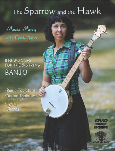 The Sparrow & the Hawk - 8 Songs For 5-String Banjo Book