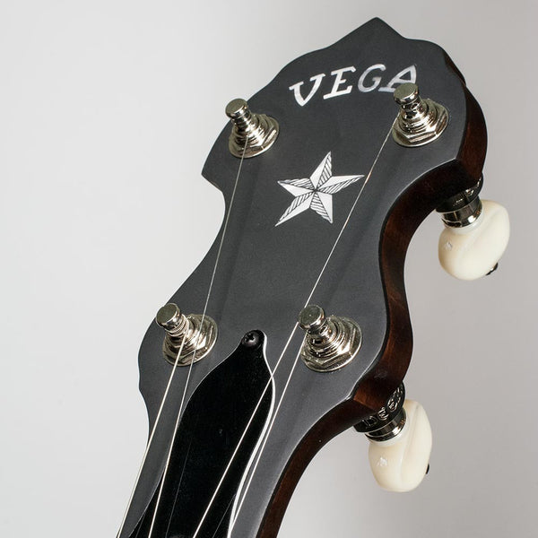 Vega Little Wonder banjo - peghead