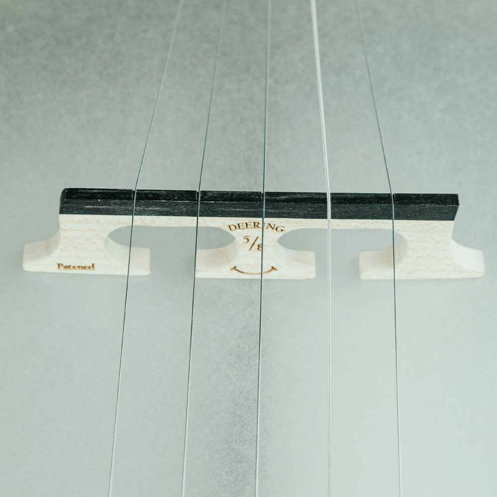 Vega Vintage Star banjo - smile bridge