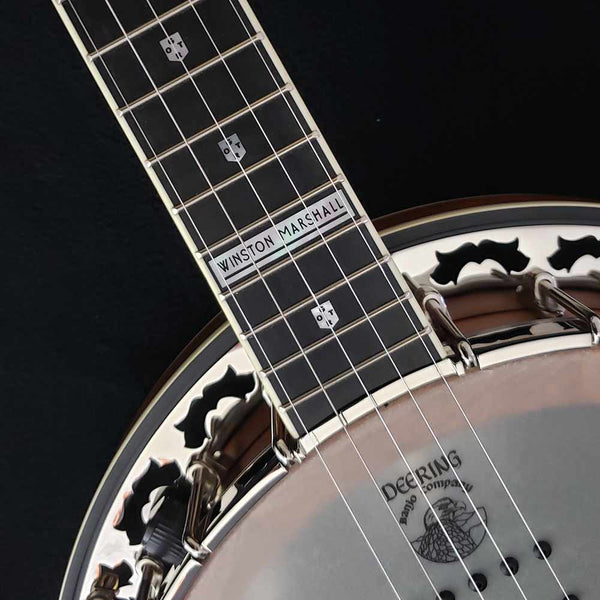 Winston Marshall Signature Model Name Plate