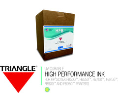 LT CYAN - TRIANGLE® HFB UV CURABLE INK - 3 LITER