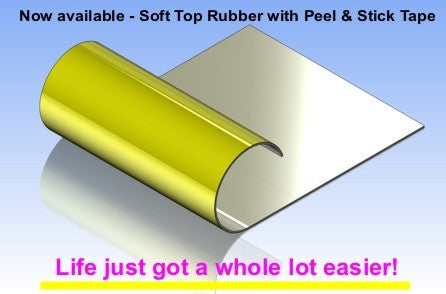Soft Top Rubber Pre Cut 17x23