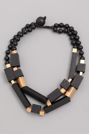 Chunky Block Necklace