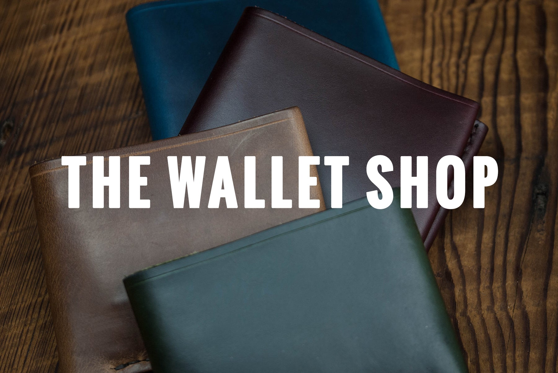 MADE IN THE USA WALLETS AT THE LODGE