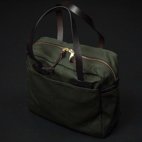Filson Zipper Tote at The Lodge