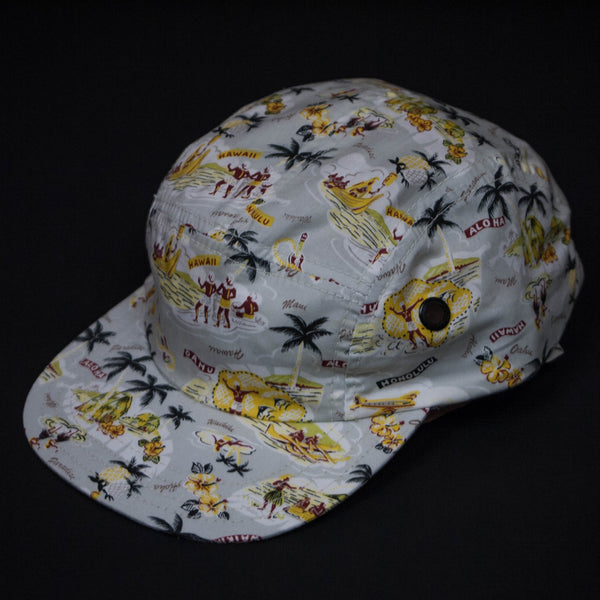 HAWAIIAN PRINT CAMP HAT AT THE LODGE MAN SHOP