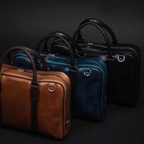 Laulom Leather Briefcases at The Lodge