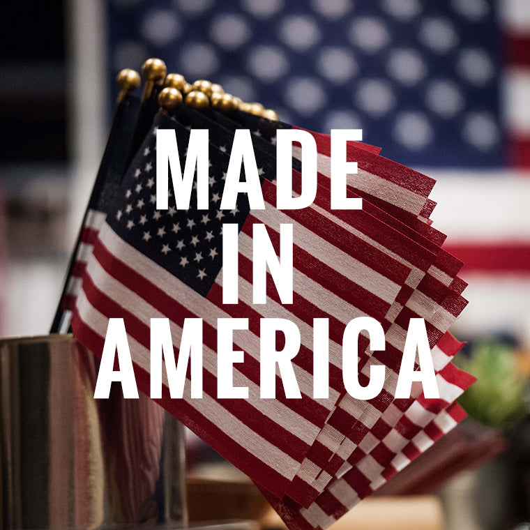 THE LODGE MAN SHOP- MADE IN THE USA