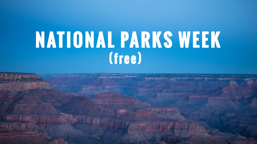 NATIONAL PARKS WEEK AT THE LODGE