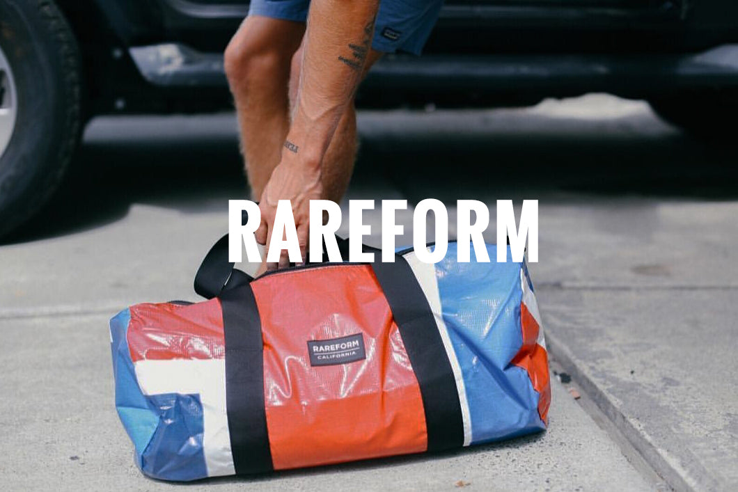 Rareform Bags at The Lodge