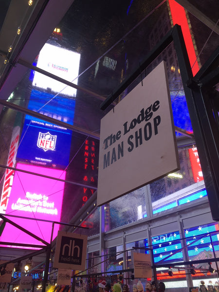 The Lodge Times Square New York Pop-up Shop Men's Gifts
