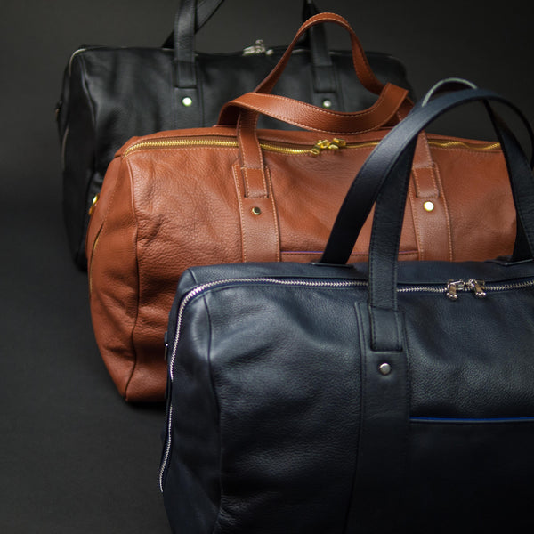 Wilt Madison Leather Duffel at The Lodge