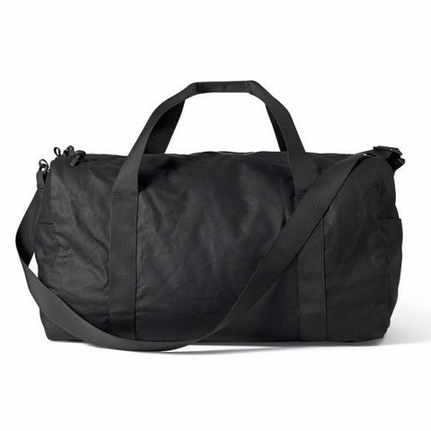 Filson Medium Tin Cloth Duffle Black at The Lodge