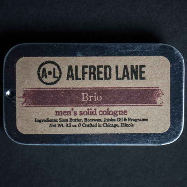 Alfred Lane Brio Solid Cologne at The Lodge