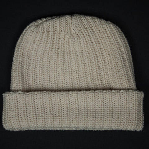 ADIRONDACK COTTON KNIT HAT NATURAL - THE LODGE  - 1