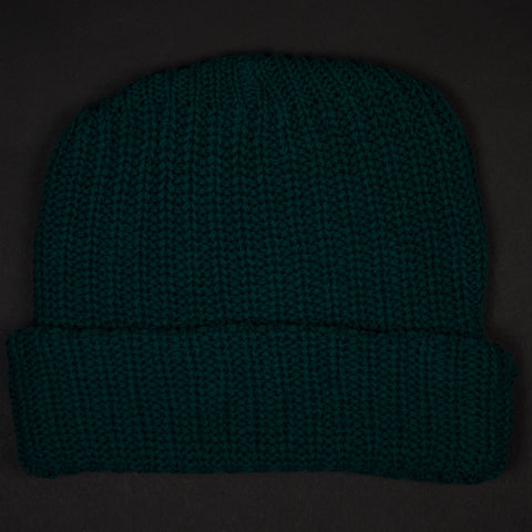 ADIRONDACK FOREVER GREEN COTTON KNIT CAP - THE LODGE  - 1
