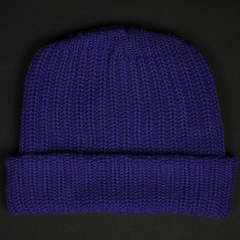 ADIRONDACK PURPLE COTTON WATCH CAP - THE LODGE  - 1