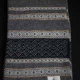 AMANA ALPINE WOOL THROW GREY