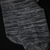 ARDMORE VARIGATED COTTON BOOT SOCKS GREY - THE LODGE  - 3