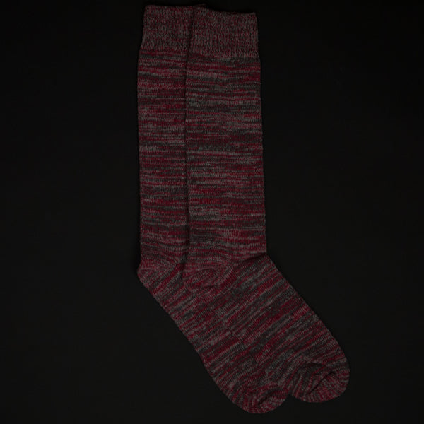 American Trench Ardmore Red Boot Socks at The Lodge