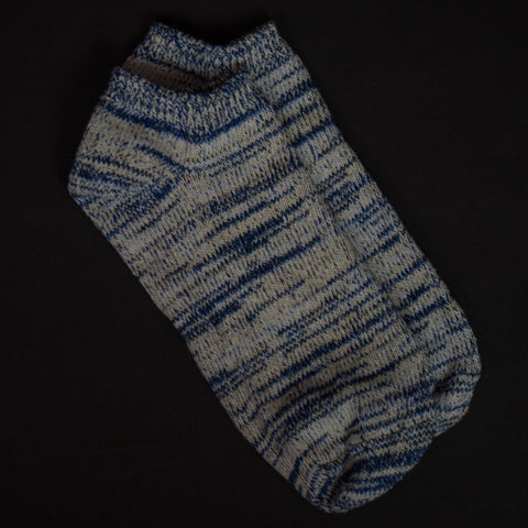 American Trench Blue Heather Summer Socks at The Lodge