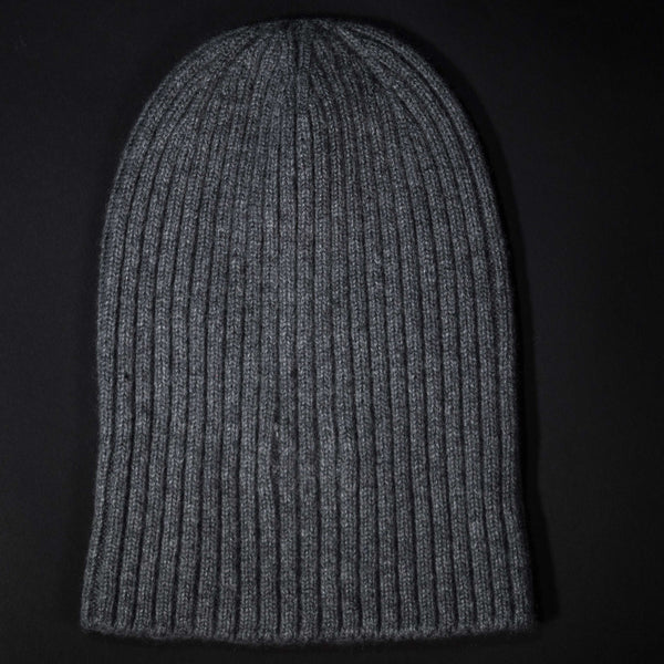 American Trench Grey Cashmere Knit Hat at The Lodge
