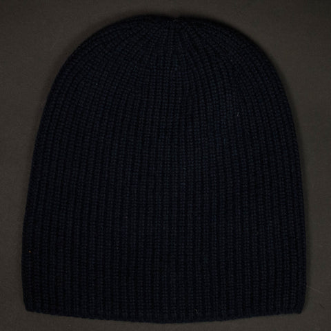 American Trench Navy Cashmere Knit Hat at The Lodge