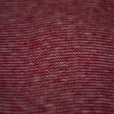 COTTON KNIT MINISTRIPE SCARF RED - THE LODGE  - 3