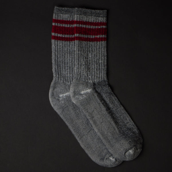 American Trench Merino Silver Active Sock at The Lodge
