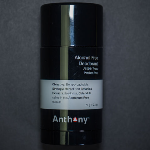 ANTHONY DEODORANT ALCOHOL-FREE
