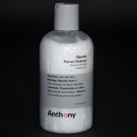 Anthony Skincare Glycolic Facial Cleanser- The Lodge
