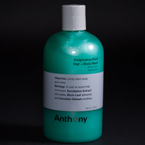 Anthony Skincare Invigorating Rush Body Wash at The Lodge