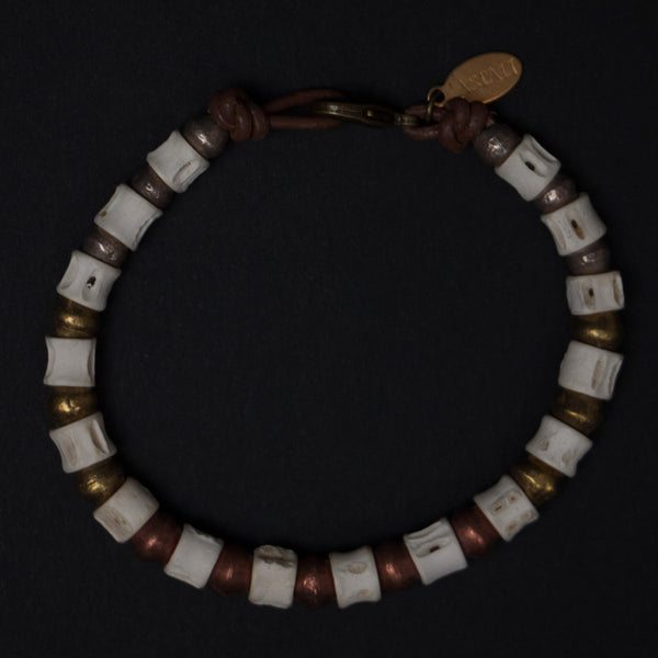 Astali Utah Fish Vertebrae Bracelet at The Lodge Man Shop