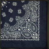 WASHED NAVY ORIGINAL BANDANA - THE LODGE  - 1