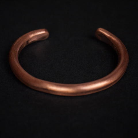 Cause and Effect Copper Bar Cuff at The Lodge