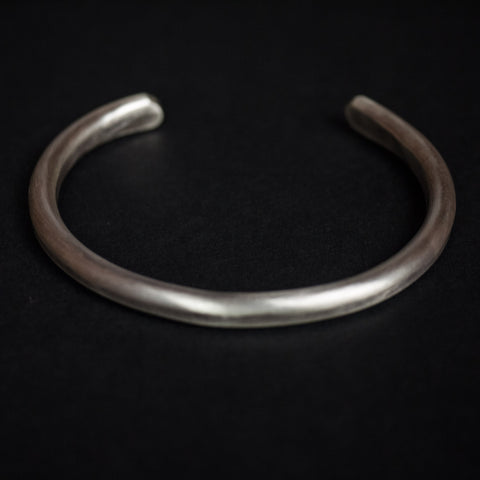 STERLING SILVER BAR CUFF - THE LODGE  - 1