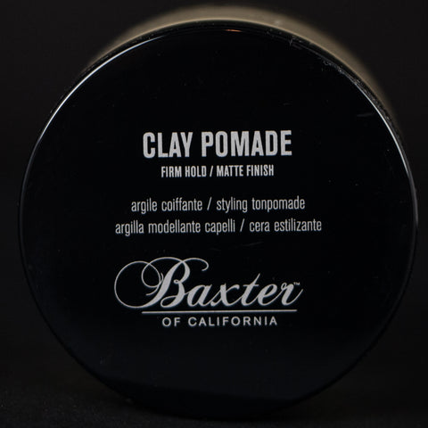 BAXTER CLAY POMADE- FIRM HOLD / MATTE FINISH - THE LODGE  - 1