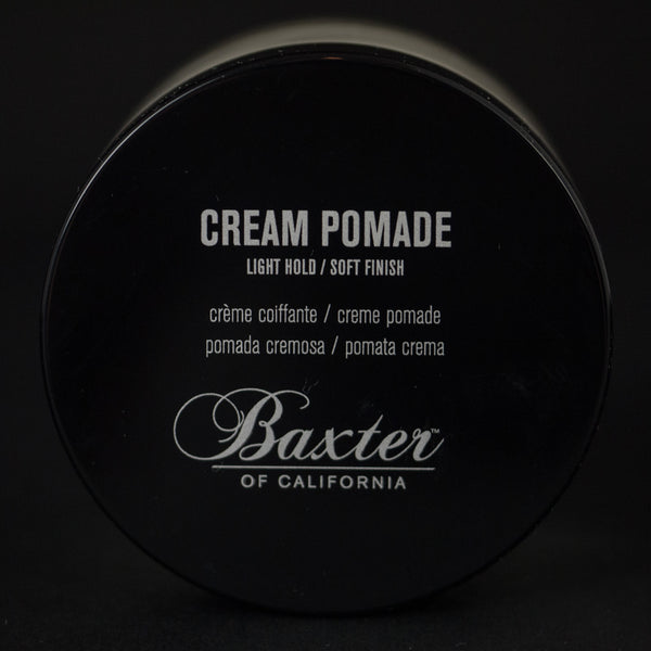 BAXTER CREAM POMADE- LIGHT HOLD/ SOFT FINISH - THE LODGE  - 1