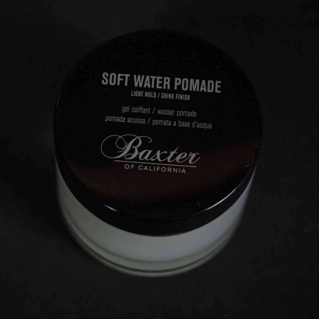BAXTER SOFT WATER POMADE- LIGHT HOLD / SHINE FINISH - THE LODGE  - 2