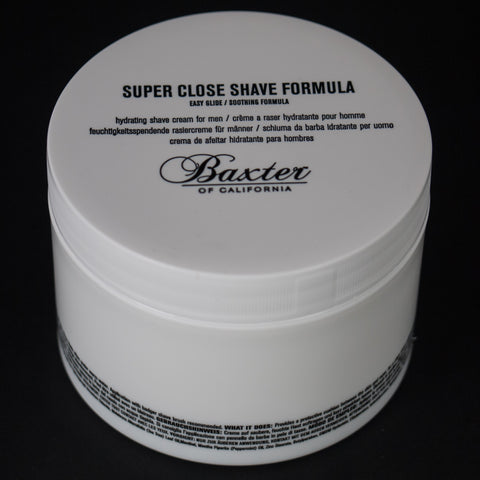BAXTER SUPER CLOSE SOOTHING SHAVE - THE LODGE