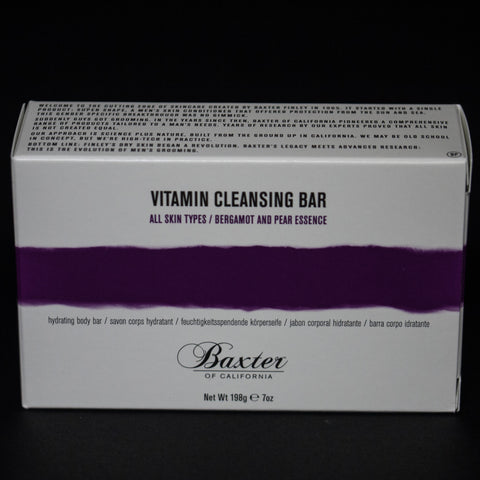 BAXTER VITAMIN CLEANSING BAR BERGAMOT PEAR - THE LODGE  - 1