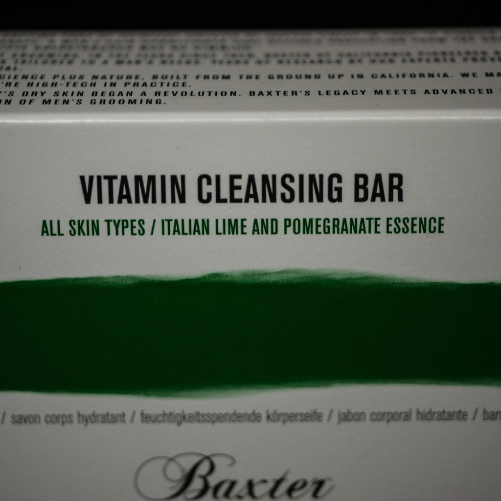 BAXTER VITAMIN CLEANSING BAR ITALIAN LIME - THE LODGE  - 4