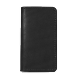 IPHONE WALLET BLACK LEATHER RED CLOUDS COLLECTIVE
