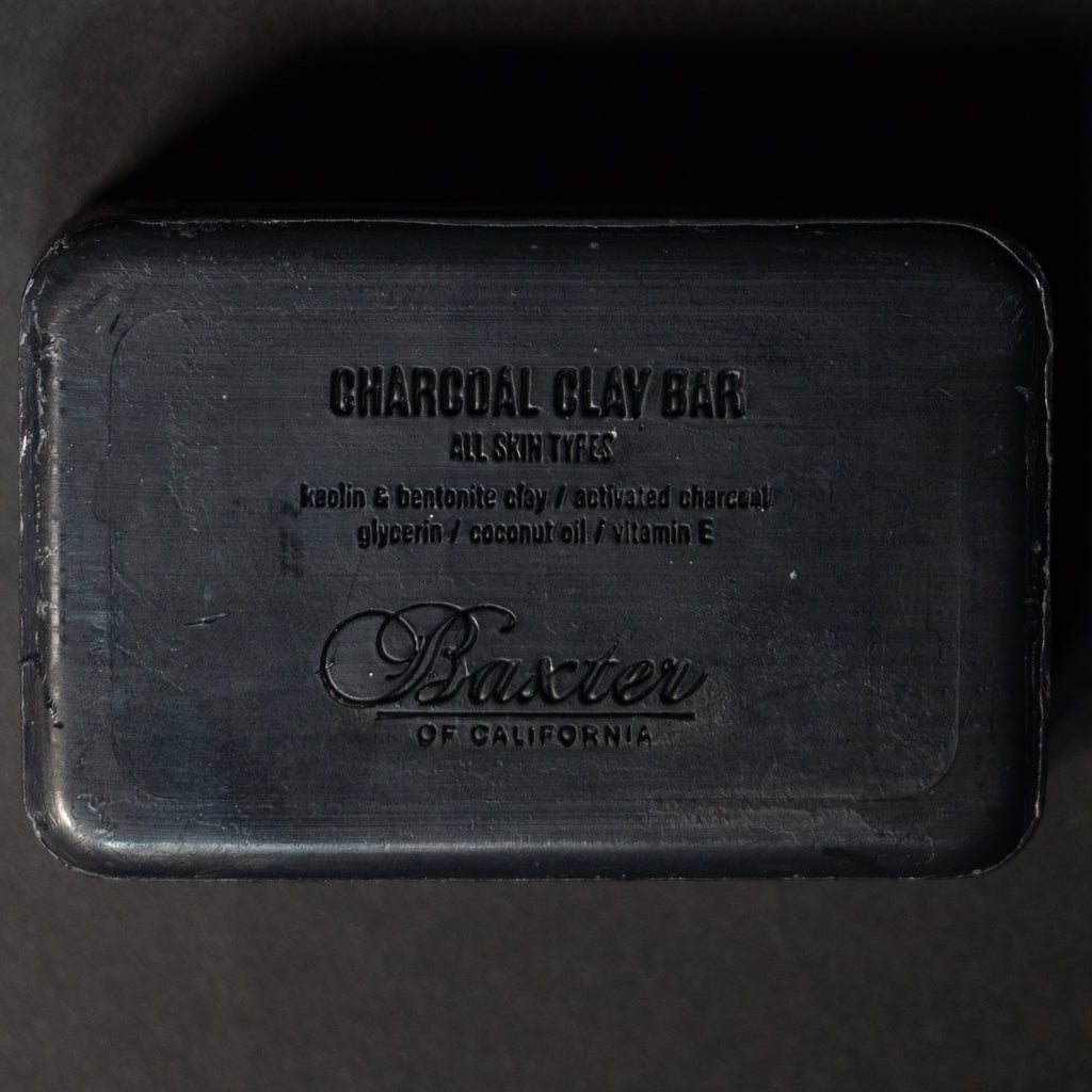 BAXTER CHARCOAL + CLAY DEEP CLEANSING SOAP